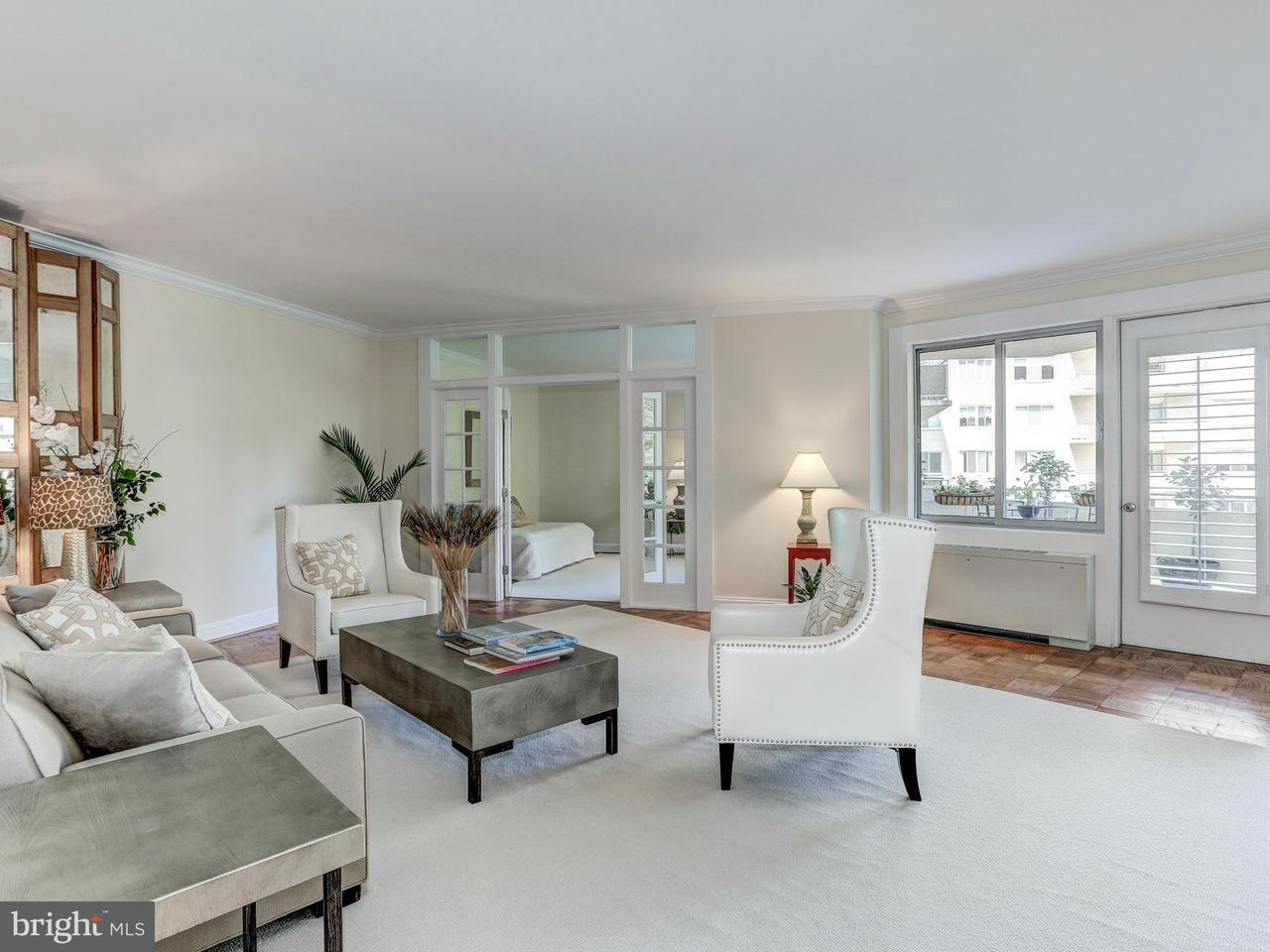 共管式独立产权公寓 为 销售 在 2801 New Mexico Ave Nw #715 2801 New Mexico Ave Nw #715 华盛顿市, 哥伦比亚特区 20007 美国