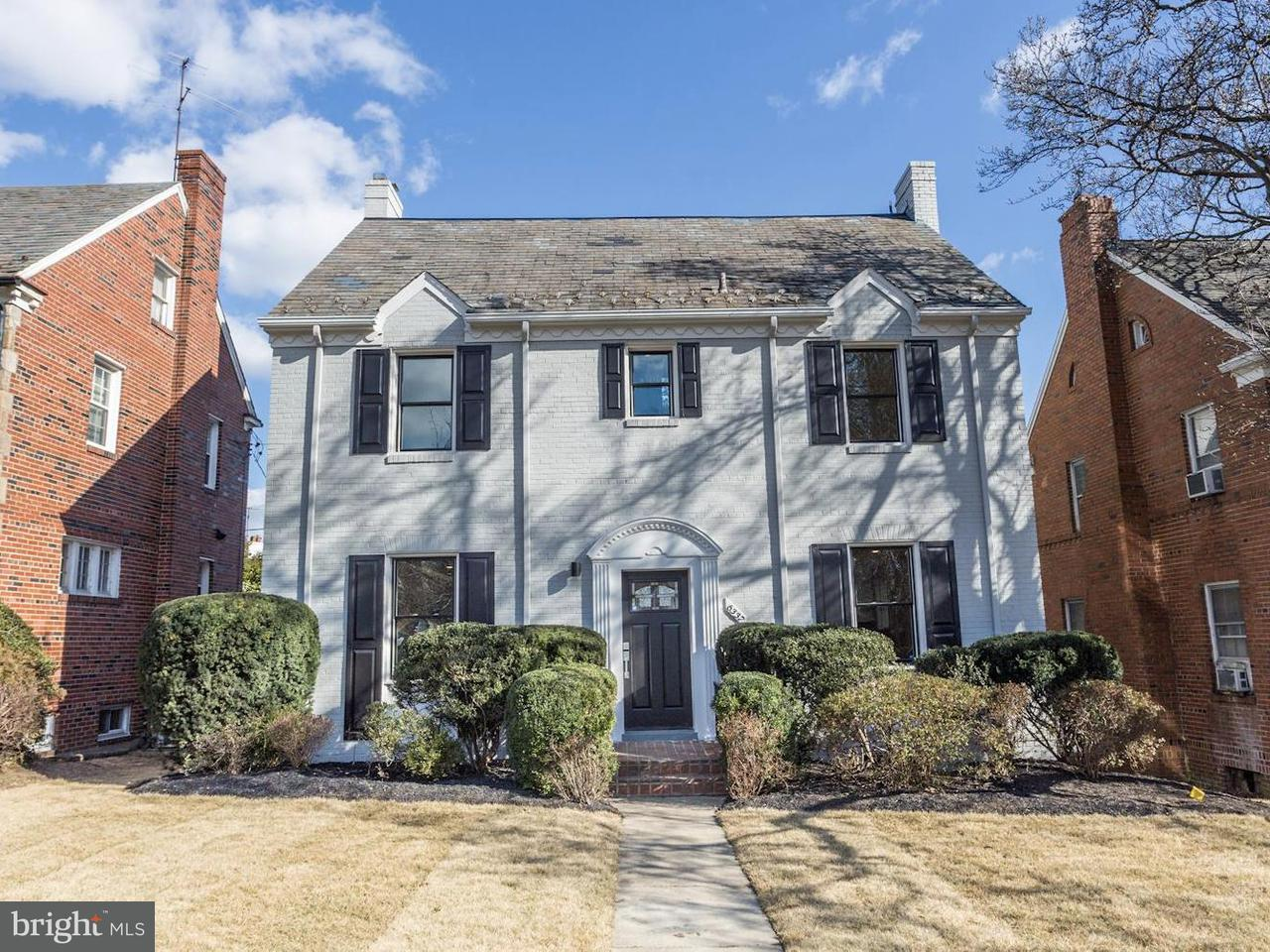 Single Family for Sale at 6337 16th St NW Washington, District Of Columbia 20011 United States