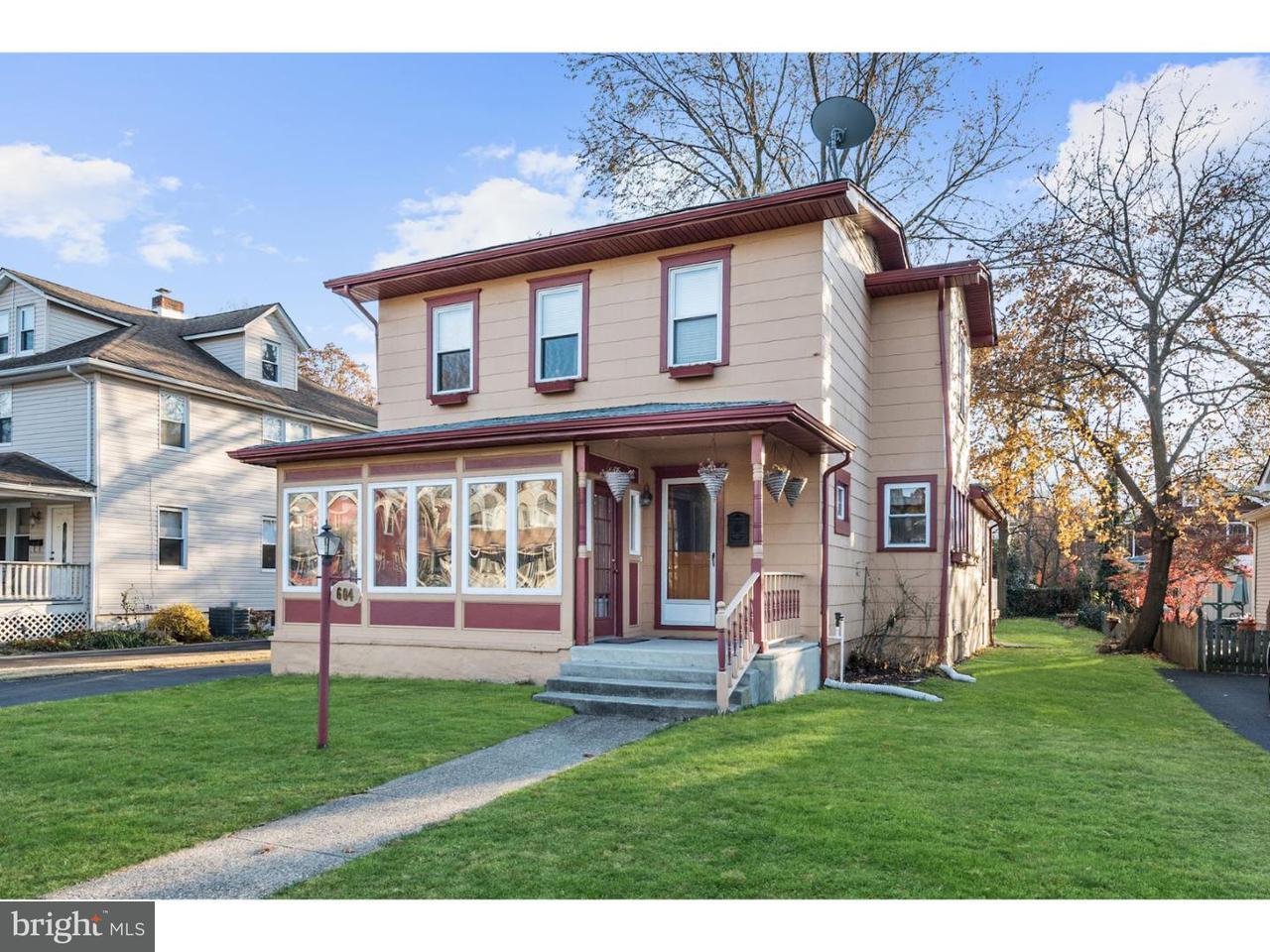 独户住宅 为 销售 在 604 LINDEN Avenue Riverton, 新泽西州 08077 美国