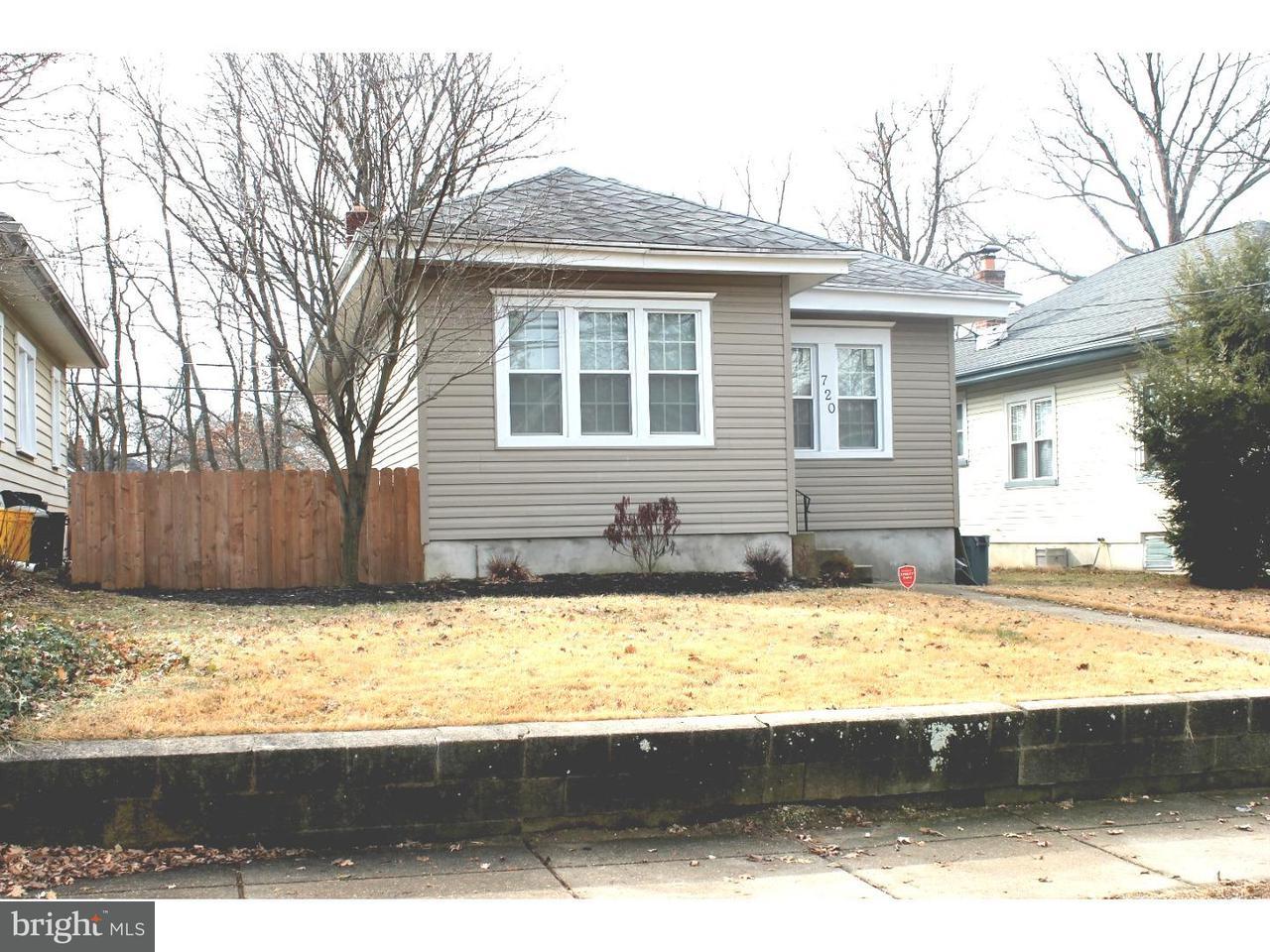 Частный односемейный дом для того Продажа на 720 WILLITTS Avenue Audubon, Нью-Джерси 08106 Соединенные Штаты