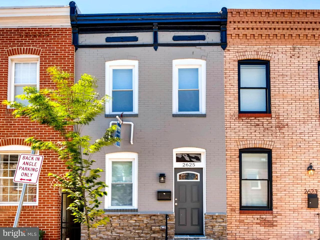 Photo of home for sale at 2625 Hudson Street, Baltimore MD