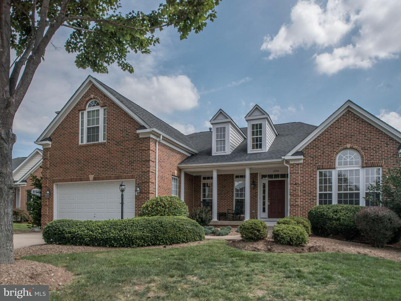 Single Family Home for Sale at 2004 Golf Drive 2004 Golf Drive Culpeper, Virginia 22701 United States