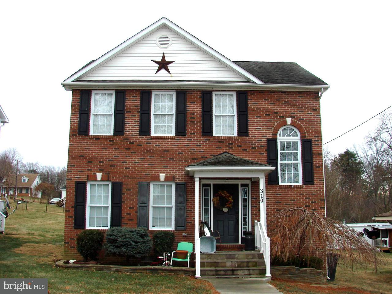 Single Family for Sale at 310 Quincy Ave Shenandoah, Virginia 22849 United States