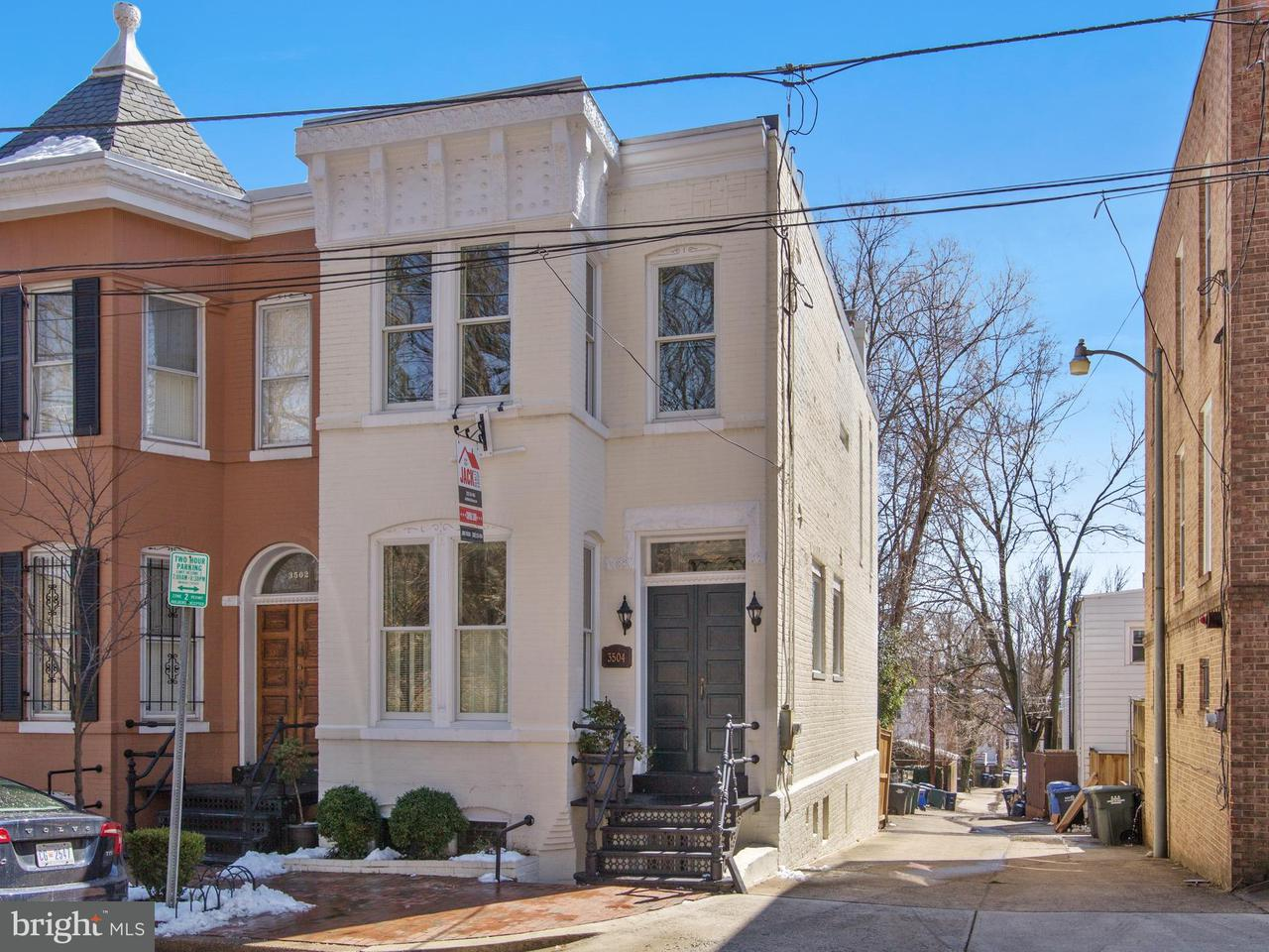 Single Family for Sale at 3504 Whitehaven Pkwy NW Washington, District Of Columbia 20007 United States