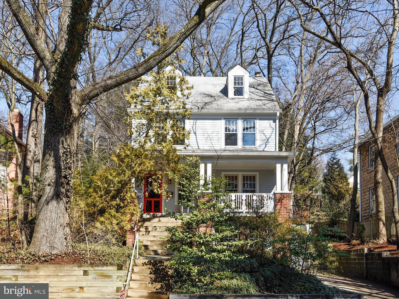 Частный односемейный дом для того Продажа на 305 Philadelphia Avenue 305 Philadelphia Avenue Takoma Park, Мэриленд 20912 Соединенные Штаты