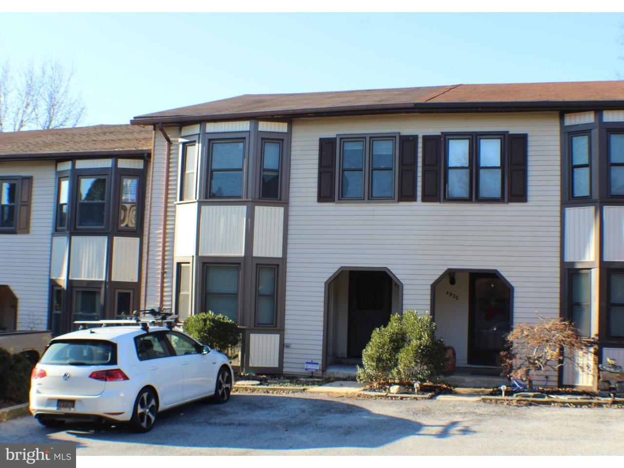 Stadthaus für Mieten beim 4922 BLOSSOM Lane Wilmington, Delaware 19808 Vereinigte Staaten