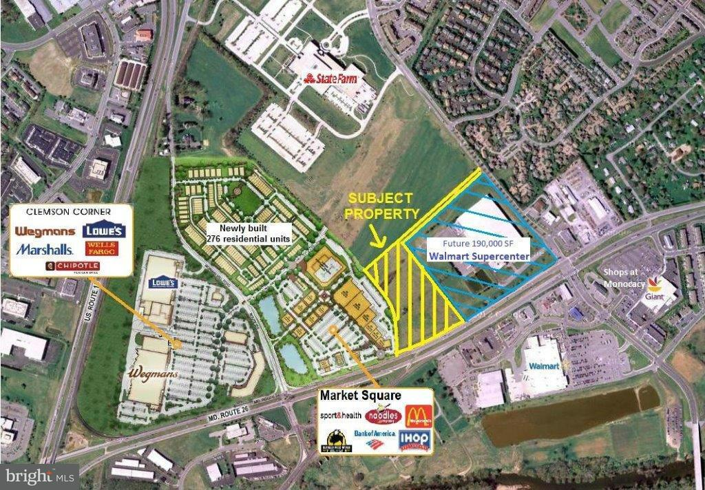 Land for Sale at 7850 Monocacy Blvd Frederick, Maryland 21701 United States
