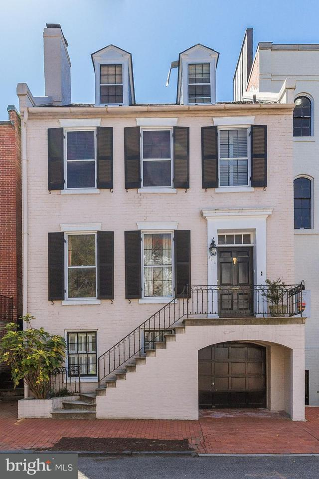 Single Family for Sale at 3114 O St NW Washington, District Of Columbia 20007 United States