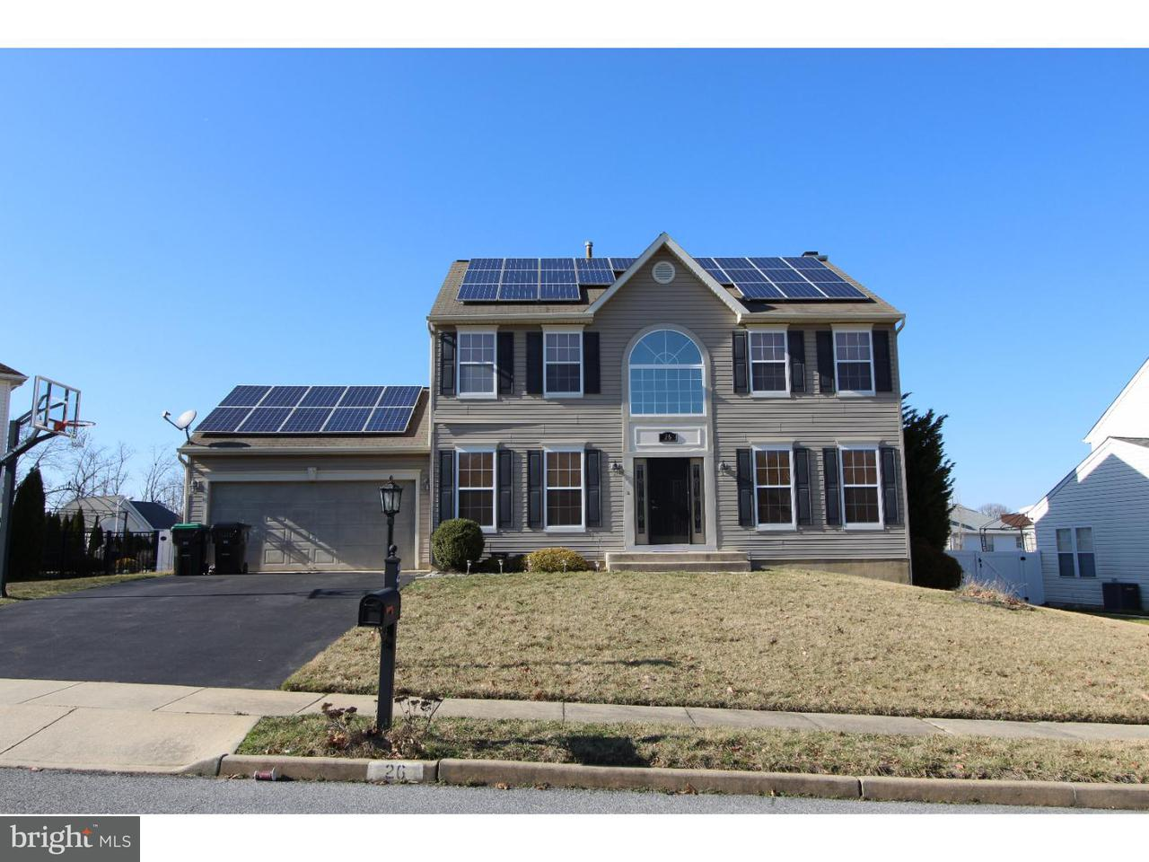 Частный односемейный дом для того Аренда на 26 ELSWORTH Drive Sicklerville, Нью-Джерси 08081 Соединенные Штаты