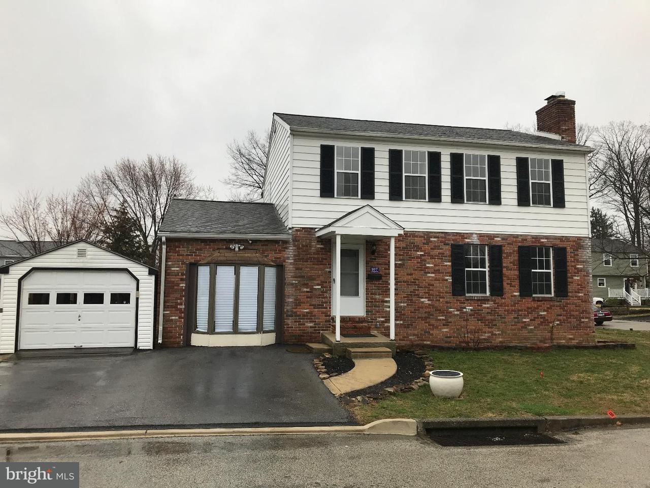 独户住宅 为 销售 在 107 S GLENWOOD Avenue Aldan, 宾夕法尼亚州 19018 美国