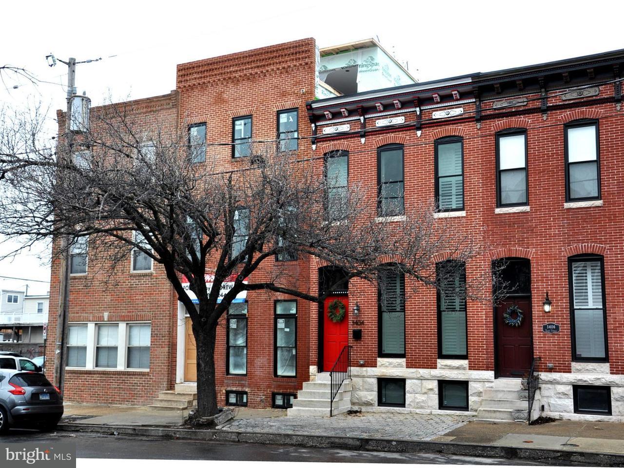 Таунхаус для того Продажа на 3402 Toone Street 3402 Toone Street Baltimore, Мэриленд 21224 Соединенные Штаты