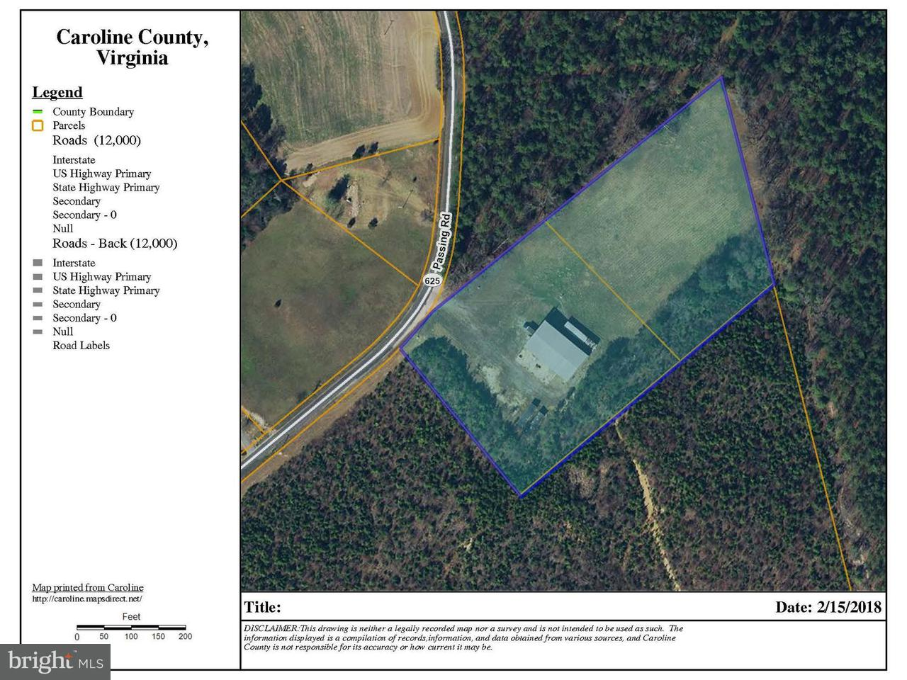 Commercial for Sale at 19123 Passing Rd Milford, Virginia 22514 United States