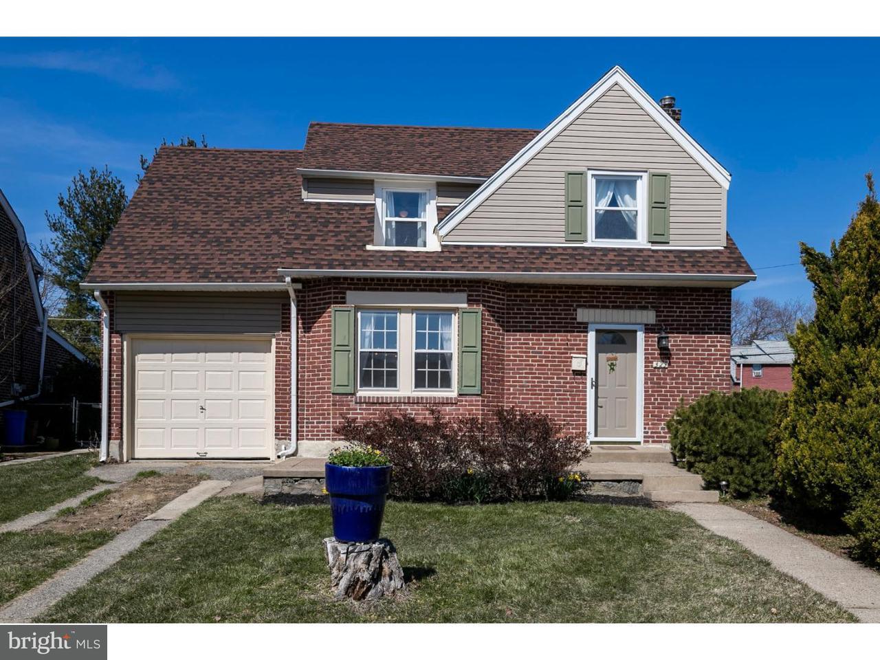 独户住宅 为 销售 在 329 ALDAN Avenue Aldan, 宾夕法尼亚州 19018 美国