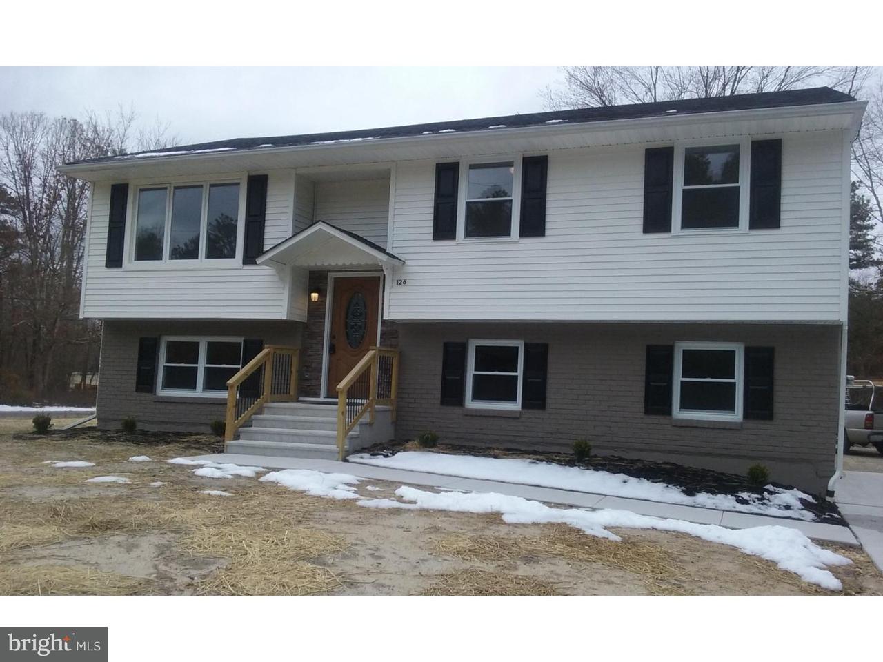 Частный односемейный дом для того Продажа на 126 RANCH Drive Buena, Нью-Джерси 08310 Соединенные Штаты