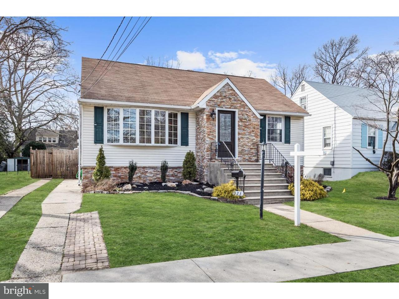 Single Family Home for Sale at 323 ORLANDO Avenue Gloucester City, New Jersey 08030 United States