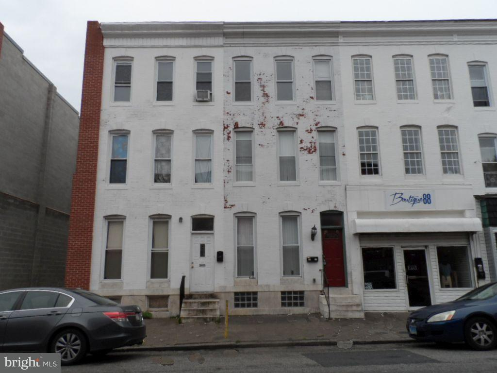 Single Family for Sale at 2015 Pratt St Baltimore, Maryland 21223 United States