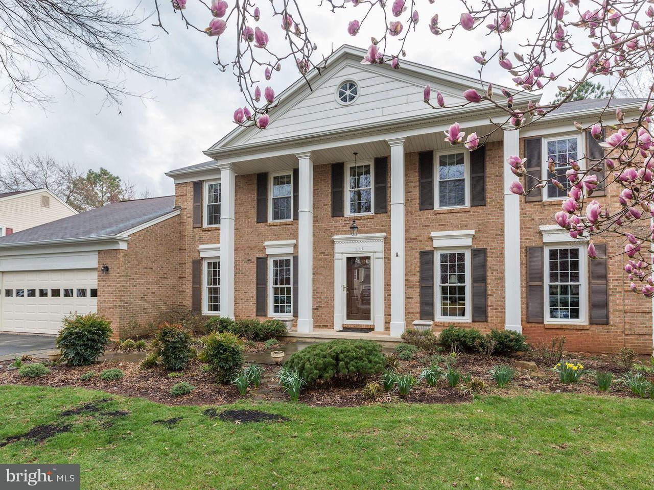 獨棟家庭住宅 為 出售 在 117 Hamilton Road 117 Hamilton Road Potomac Falls, 弗吉尼亞州 20165 美國