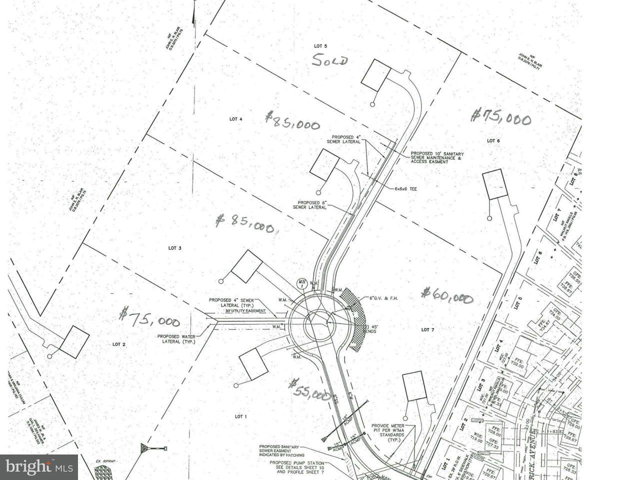 Land for Sale at Lot #6 King St W Waynesboro, Pennsylvania 17268 United States