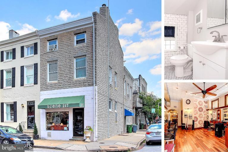 Commercial for Sale at 217 Albemarle St Baltimore, Maryland 21202 United States