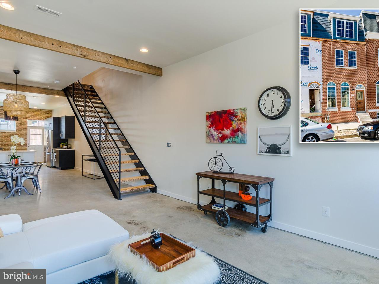 Single Family for Sale at 1604 Barclay St Baltimore, Maryland 21202 United States