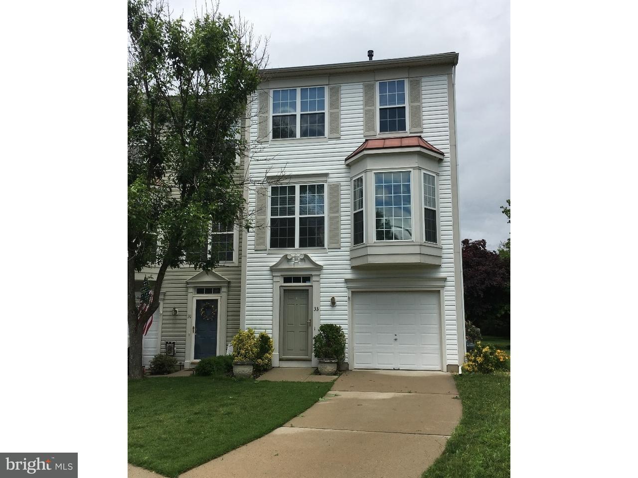 Maison accolée pour l à louer à 33 FIRETHORN Lane Riverside, New Jersey 08075 États-Unis