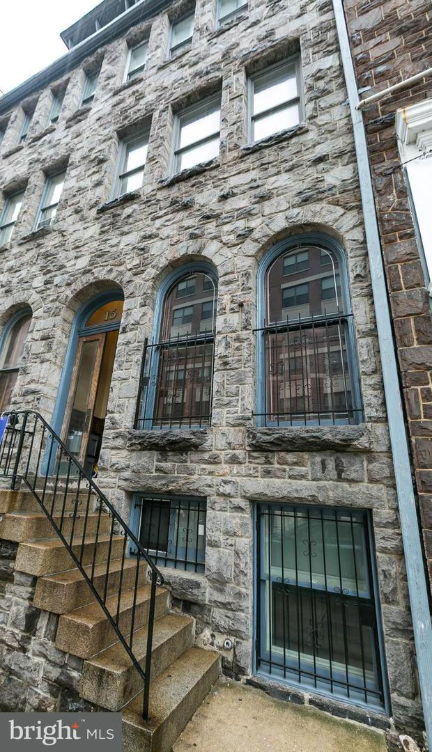 Single Family for Sale at 15 Biddle St #15a Baltimore, Maryland 21201 United States