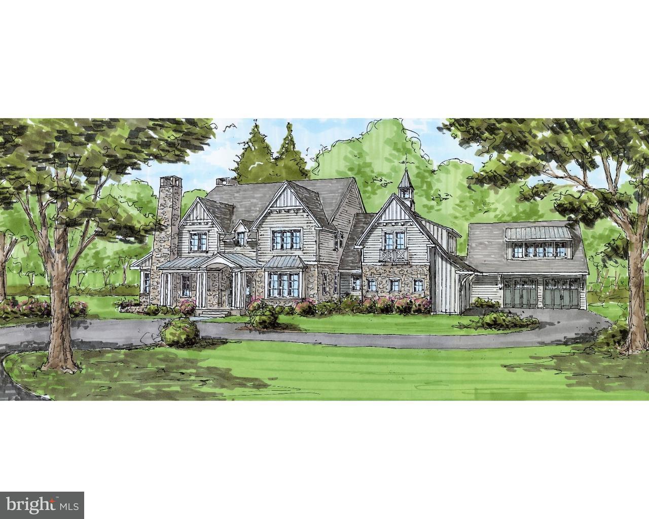 Maison unifamiliale pour l Vente à 76 PLYMOUTH Road Blue Bell, Pennsylvanie 19422 États-Unis