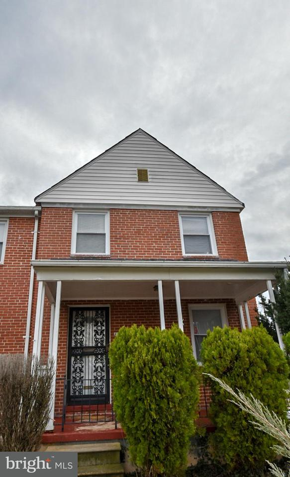 Single Family for Sale at 1301 Pentridge Rd Baltimore, Maryland 21239 United States