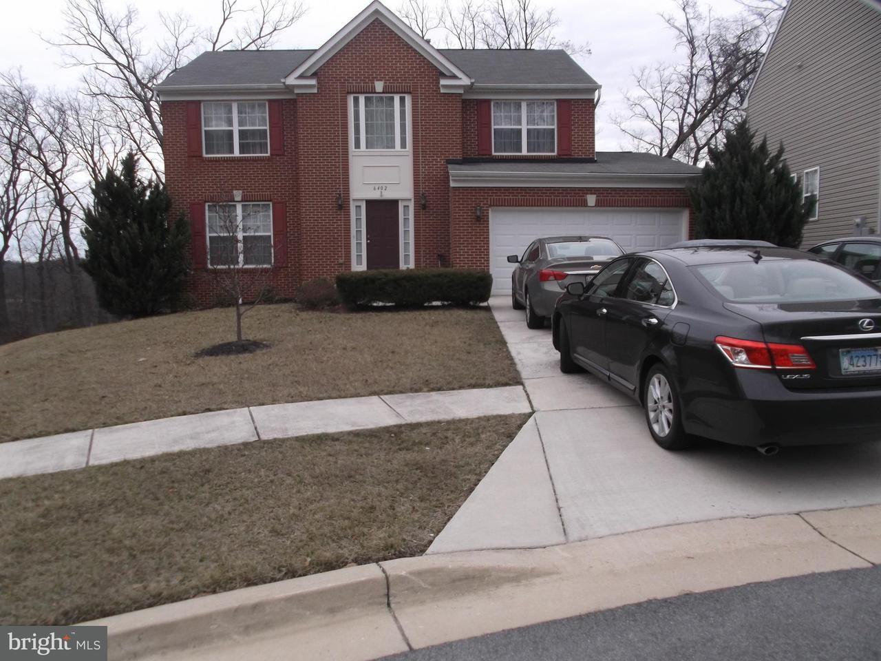 Casa Unifamiliar por un Venta en 6402 Rosalie Lane 6402 Rosalie Lane Riverdale, Maryland 20737 Estados Unidos