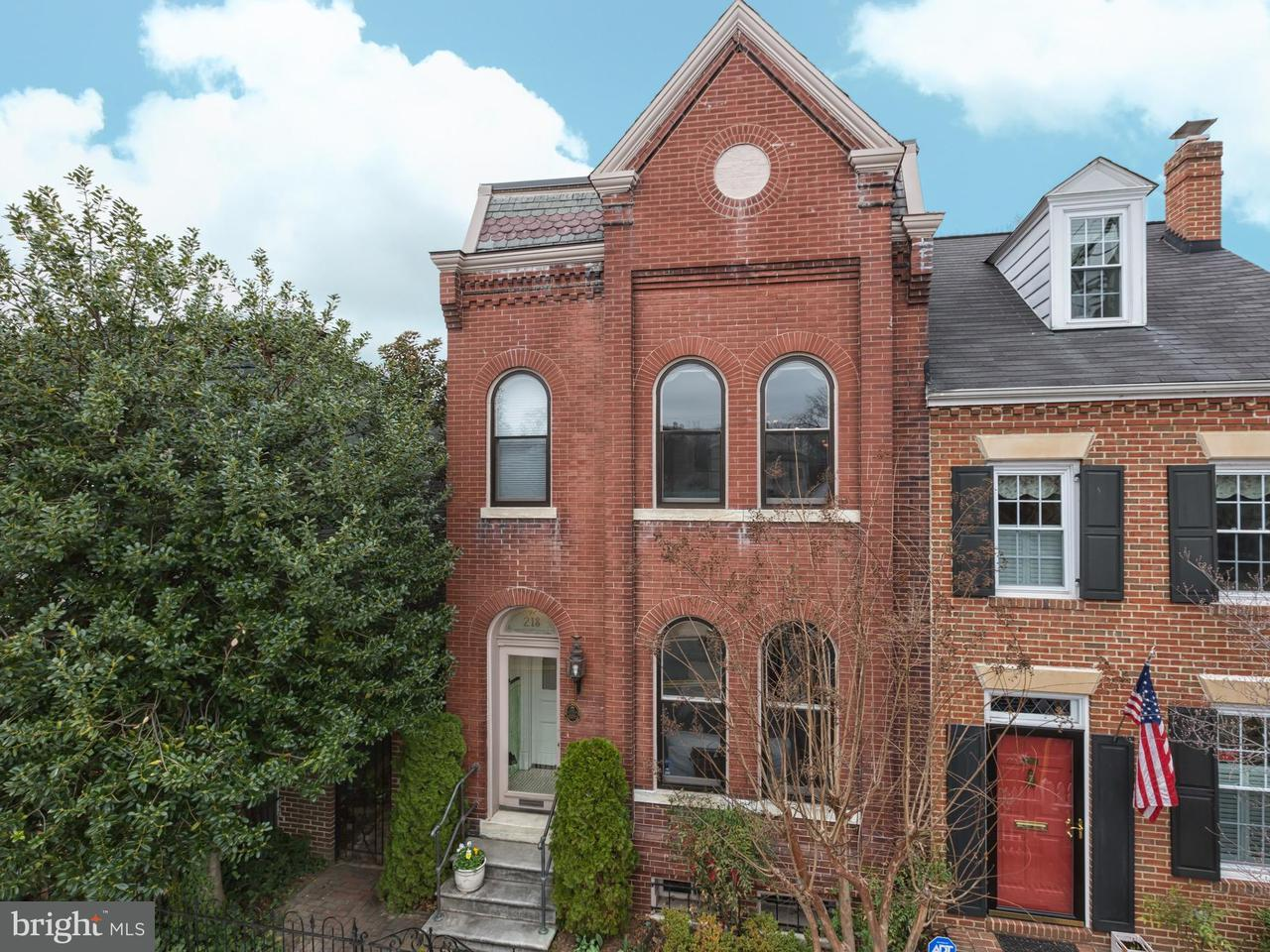 Single Family for Sale at 218 Alfred St N Alexandria, Virginia 22314 United States