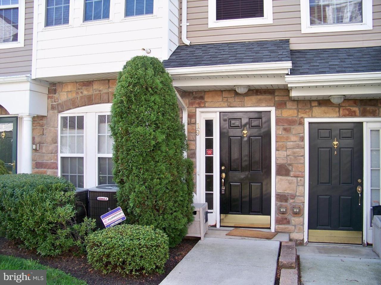Casa unifamiliar adosada (Townhouse) por un Alquiler en 19 TURTLE Court Delanco Township, Nueva Jersey 08075 Estados Unidos