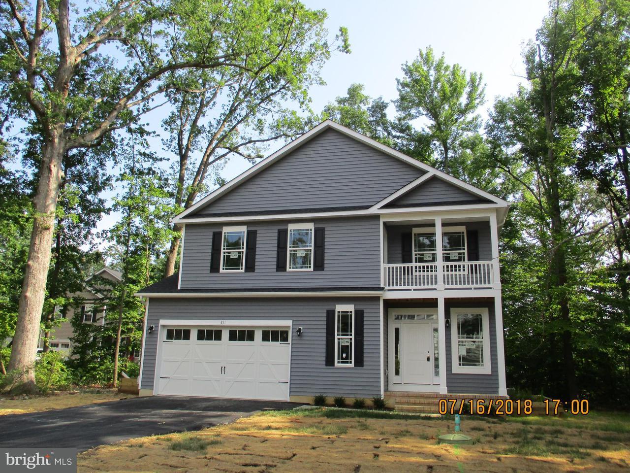 一戸建て のために 売買 アット 811 Birch Avenue 811 Birch Avenue North Beach, メリーランド 20714 アメリカ合衆国