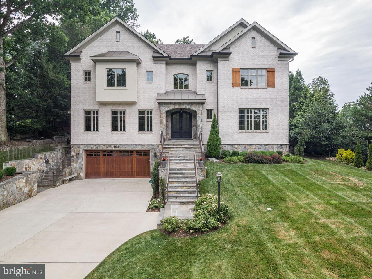 Photo of home for sale at 7208 Loch Lomond Drive, Bethesda MD