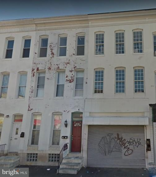 Single Family for Sale at 2017 Pratt St Baltimore, Maryland 21223 United States