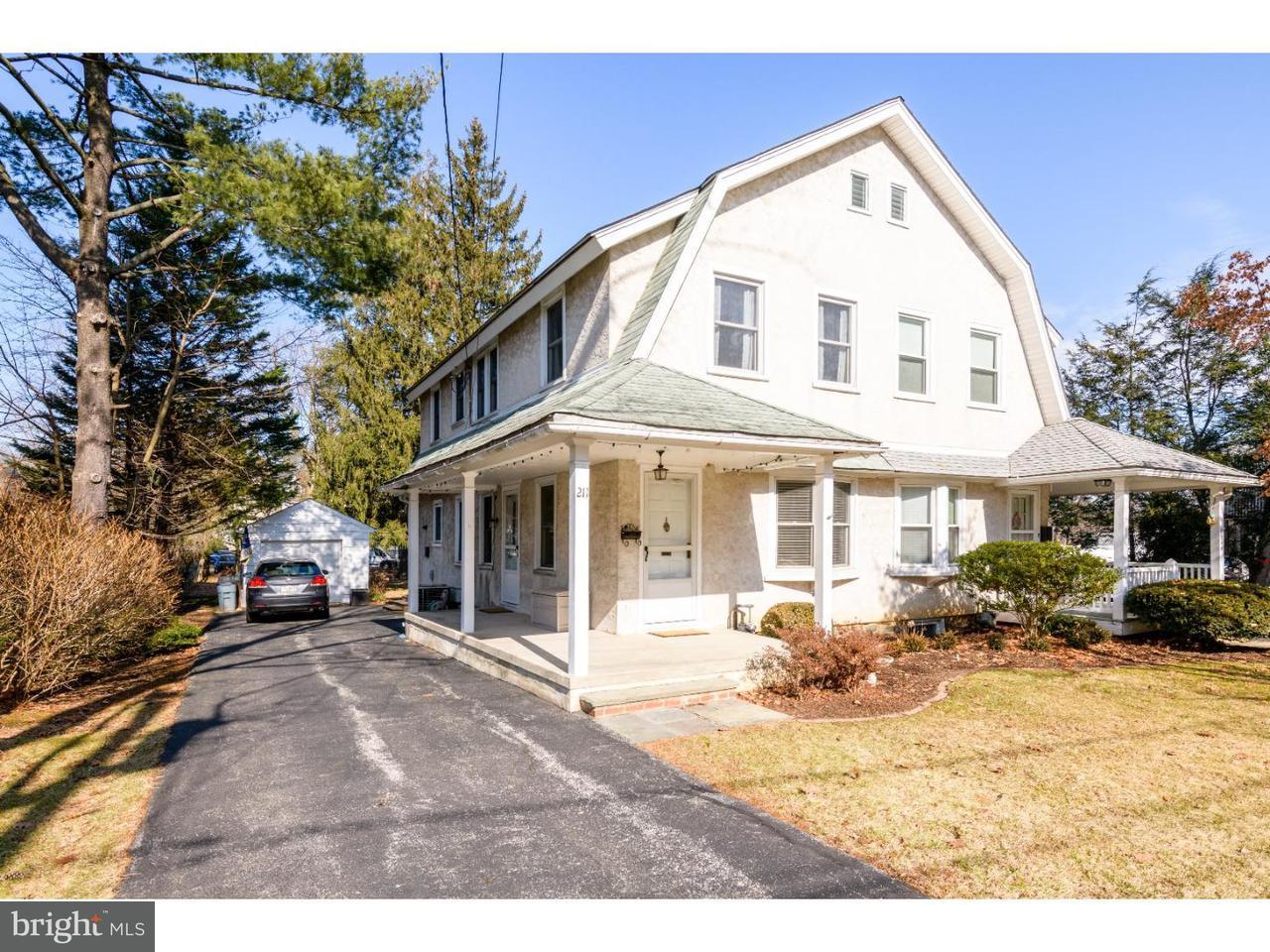 Townhouse for Rent at 211 LENOIR Avenue Wayne, Pennsylvania 19087 United States