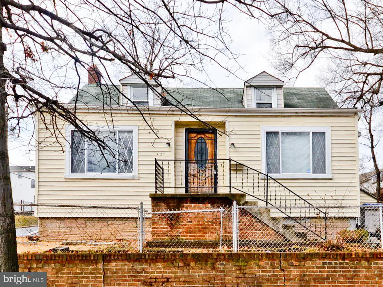 Single Family for Sale at 421 53rd St SE Washington, District Of Columbia 20019 United States