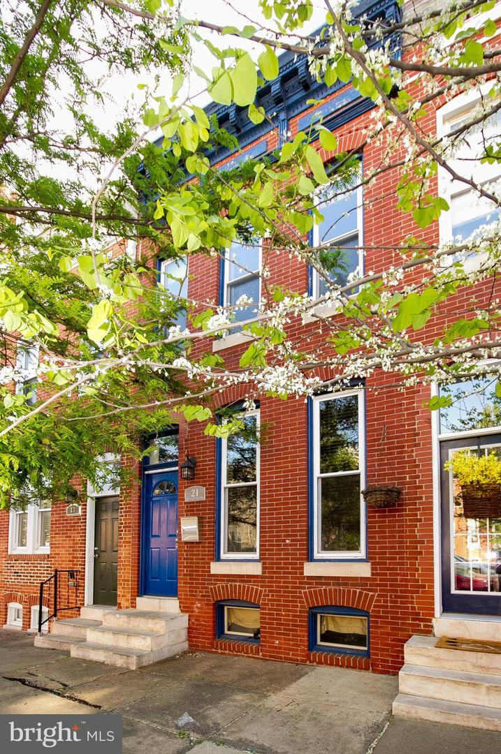 Single Family for Sale at 21 Patterson Park Ave N Baltimore, Maryland 21231 United States