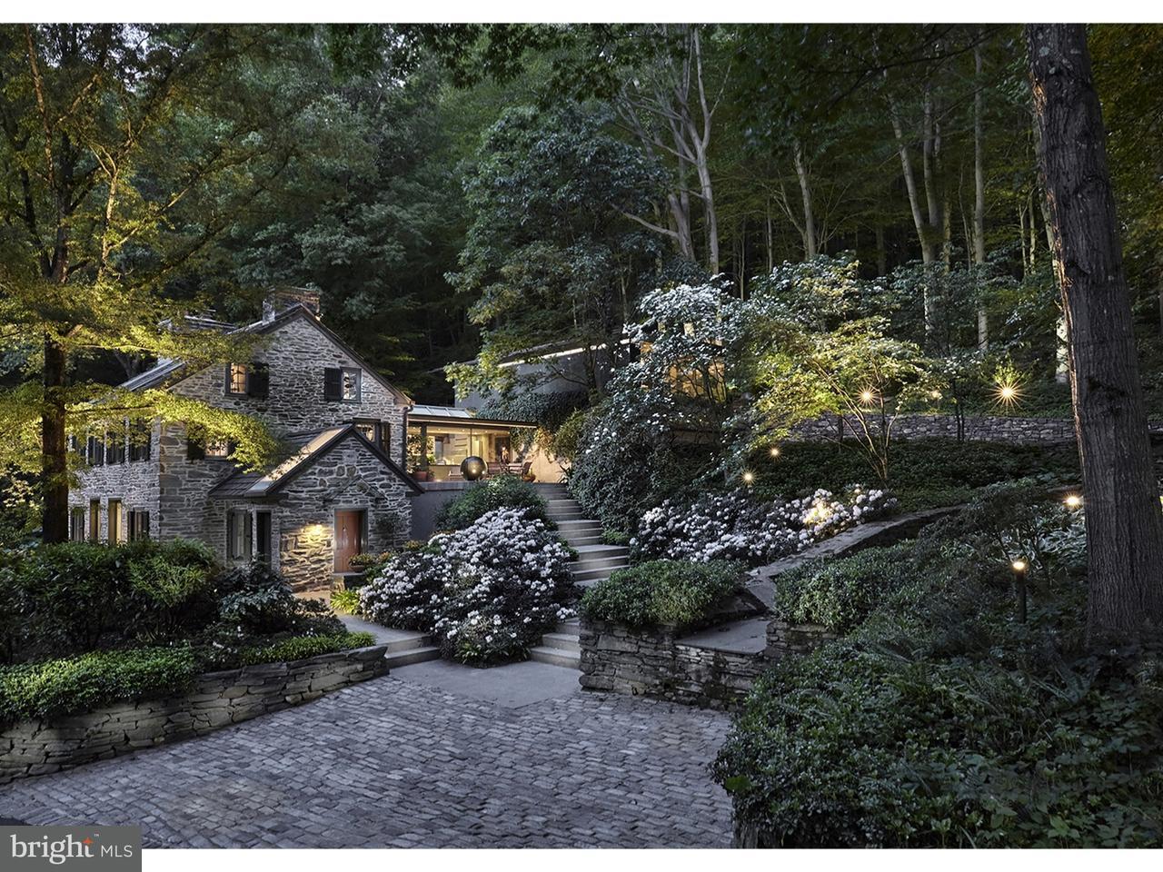 Casa Unifamiliar por un Venta en 1485 MILL CREEK Road Gladwyne, Pennsylvania 19035 Estados Unidos