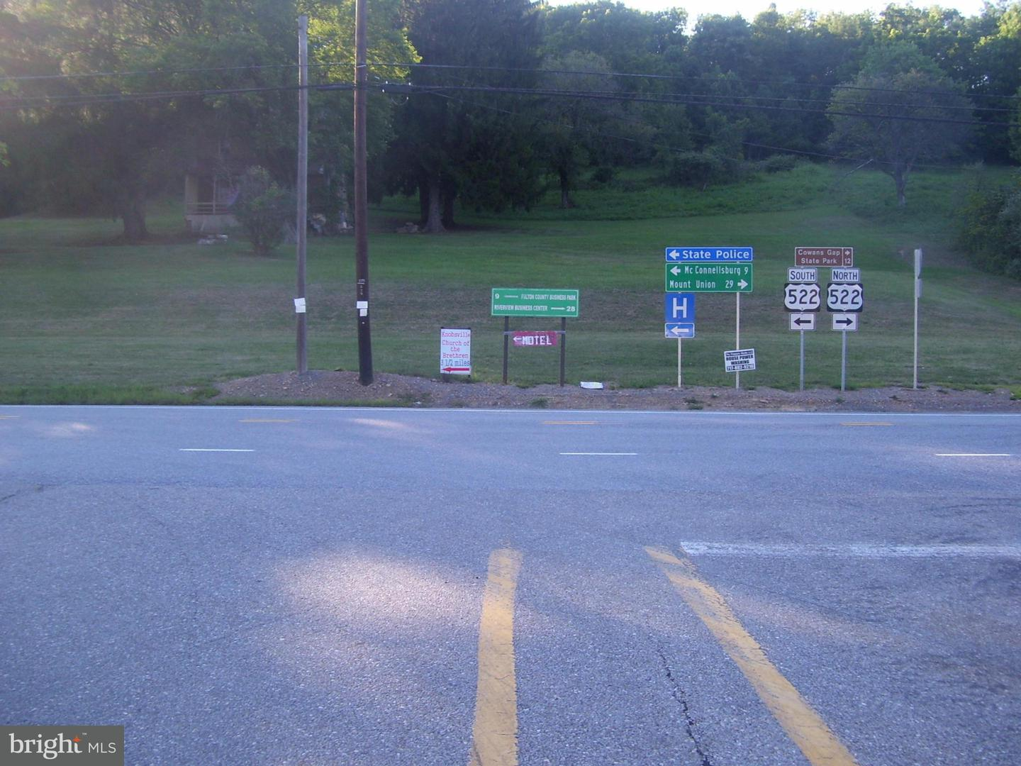 Commercial for Sale at 0lot 2 Great Cove Rd Hwy Fort Littleton, Pennsylvania 17223 United States