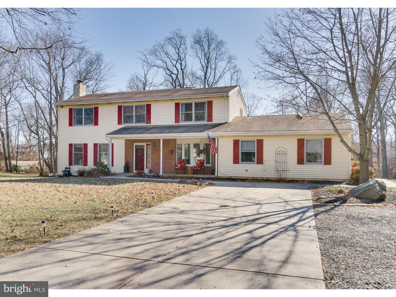 단독 가정 주택 용 매매 에 26 CROMWELL Drive Chesterfield, 뉴저지 08515 미국에서/약: Chesterfield Township