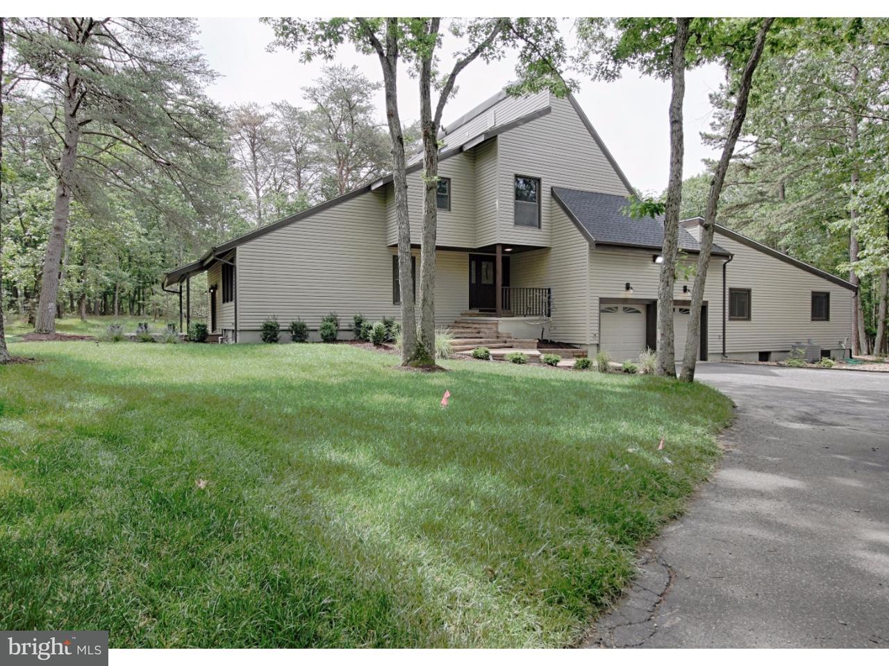 Casa Unifamiliar por un Venta en 658 TABERNACLE Road Medford, Nueva Jersey 08055 Estados Unidos