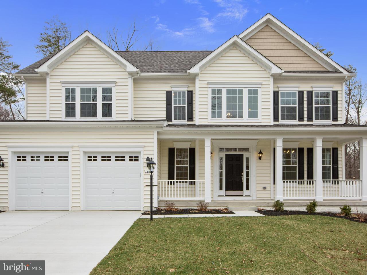 Maison unifamiliale pour l Vente à 6862 Mccormick Drive 6862 Mccormick Drive Bryans Road, Maryland 20616 États-Unis