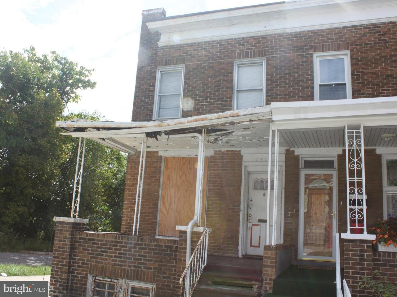 Single Family for Sale at 2301 Lauretta Ave Baltimore, Maryland 21223 United States