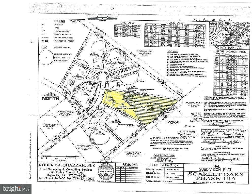 Land for Sale at 85 Scarlet Way Biglerville, Pennsylvania 17307 United States