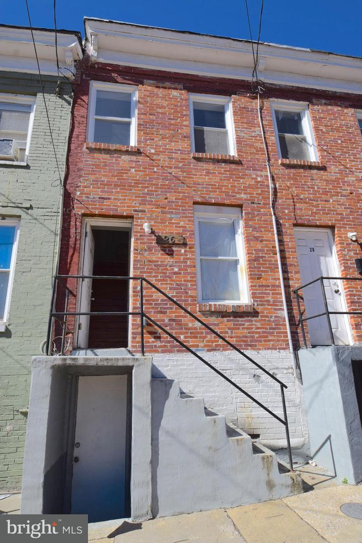 Single Family for Sale at 26 Norris St N Baltimore, Maryland 21223 United States