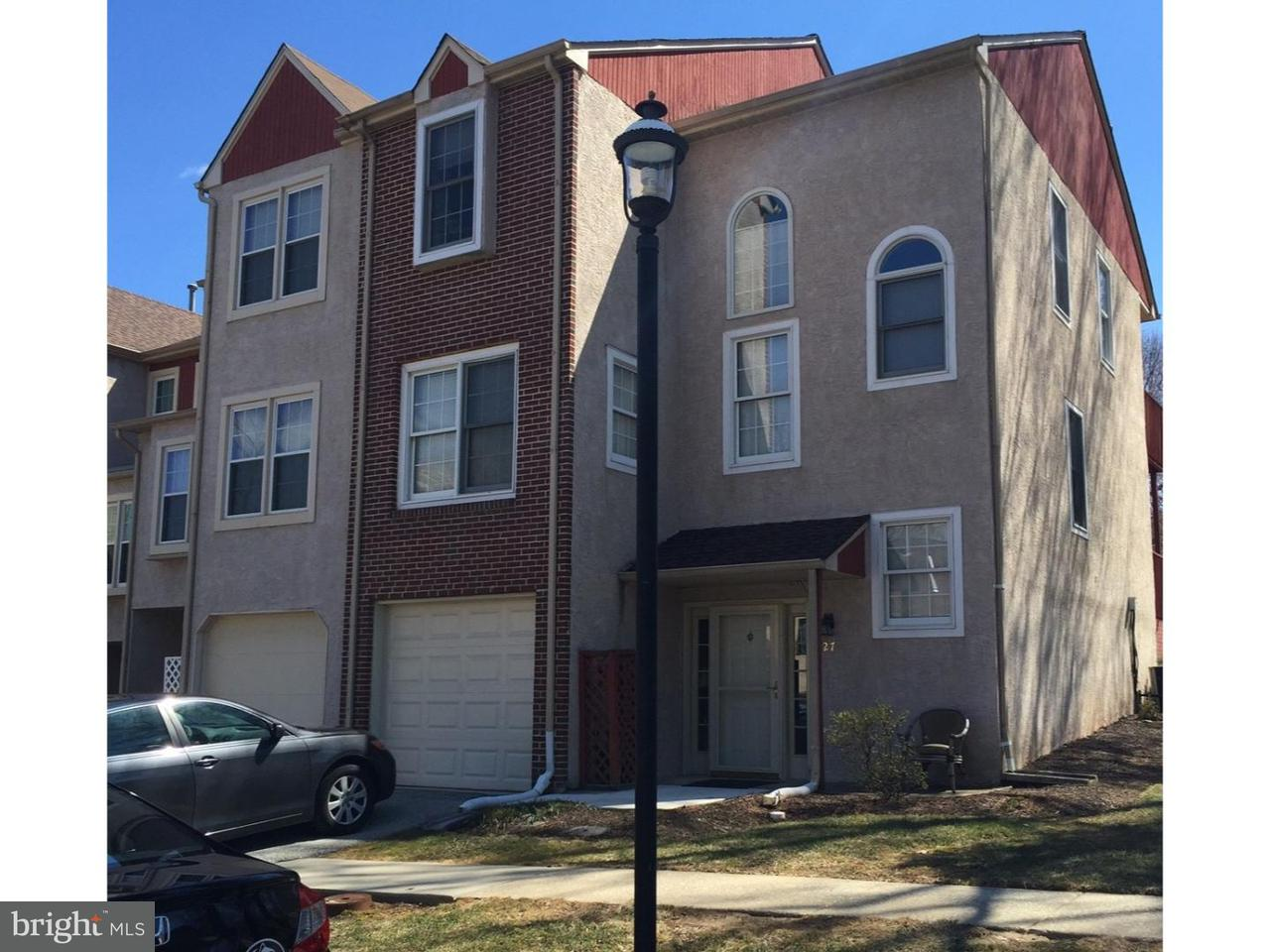 Townhouse for Rent at 27 FORSYTHIA Court Lafayette Hill, Pennsylvania 19444 United States