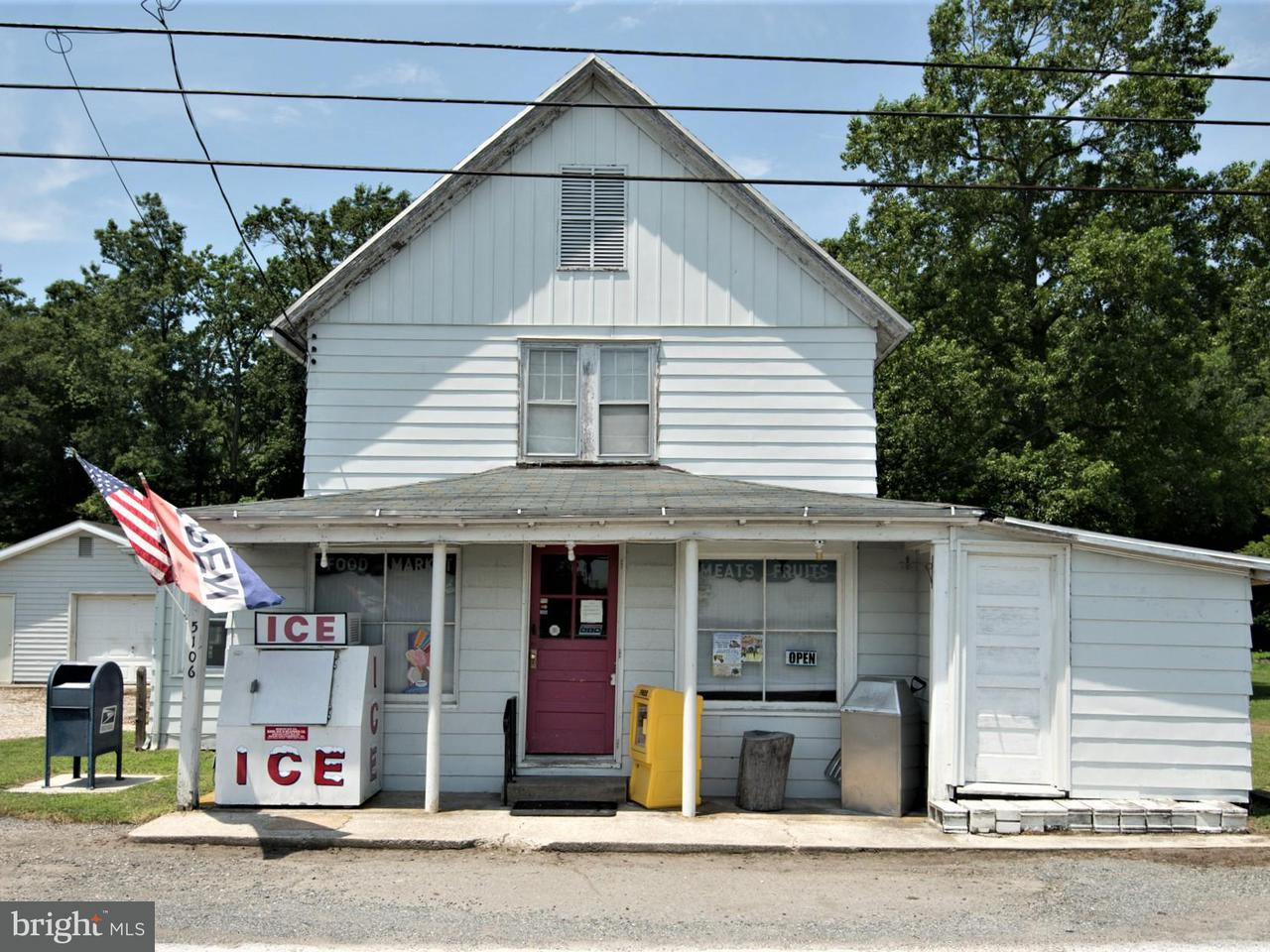 Commercial for Sale at 5106 Rhodesdale Vienna Rd Rhodesdale, 21659 United States