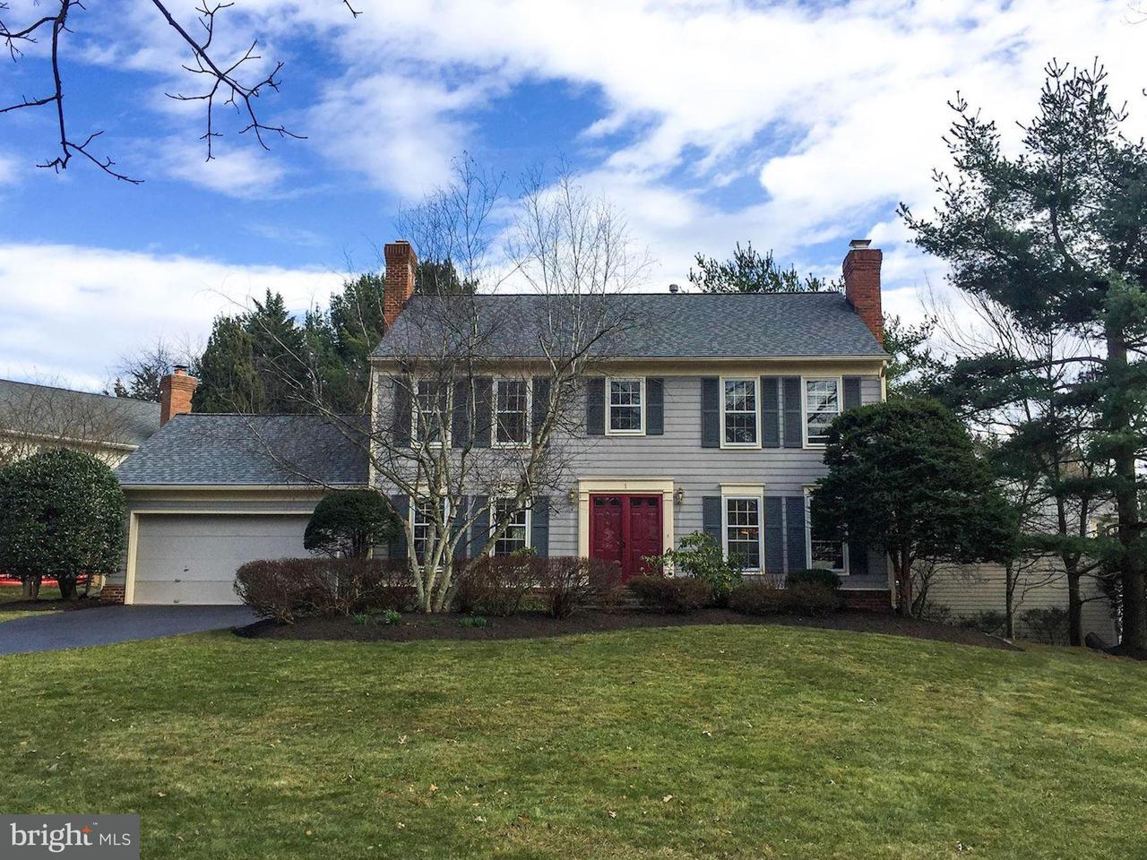 단독 가정 주택 용 매매 에 1 Lily Pond Court 1 Lily Pond Court Rockville, 메릴랜드 20852 미국
