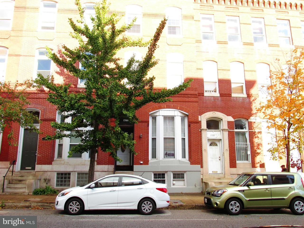 Other Residential for Rent at 1705 Calvert St #1-B Baltimore, Maryland 21202 United States