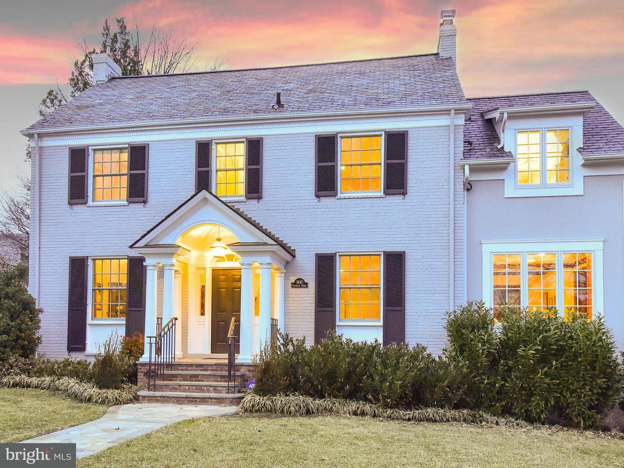 Single Family Home for Sale at 3847 Fessenden St Nw 3847 Fessenden St Nw Washington, District Of Columbia 20016 United States